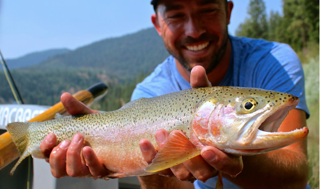 Lower Clark Fork River Fly Fishing