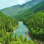 Blackfoot River Scenery