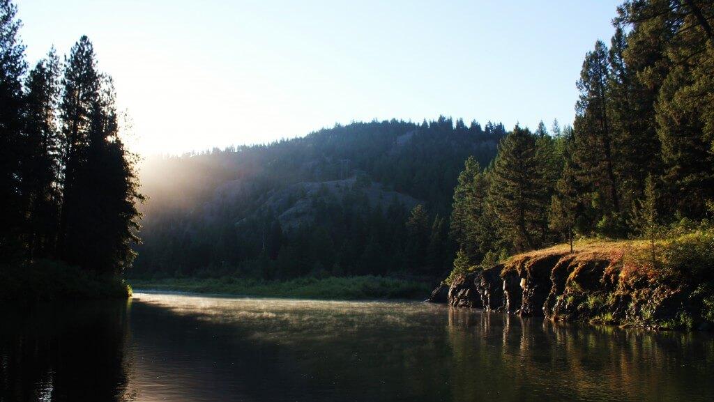Boulder Gardens, Deep Pools, on Blackfoot River