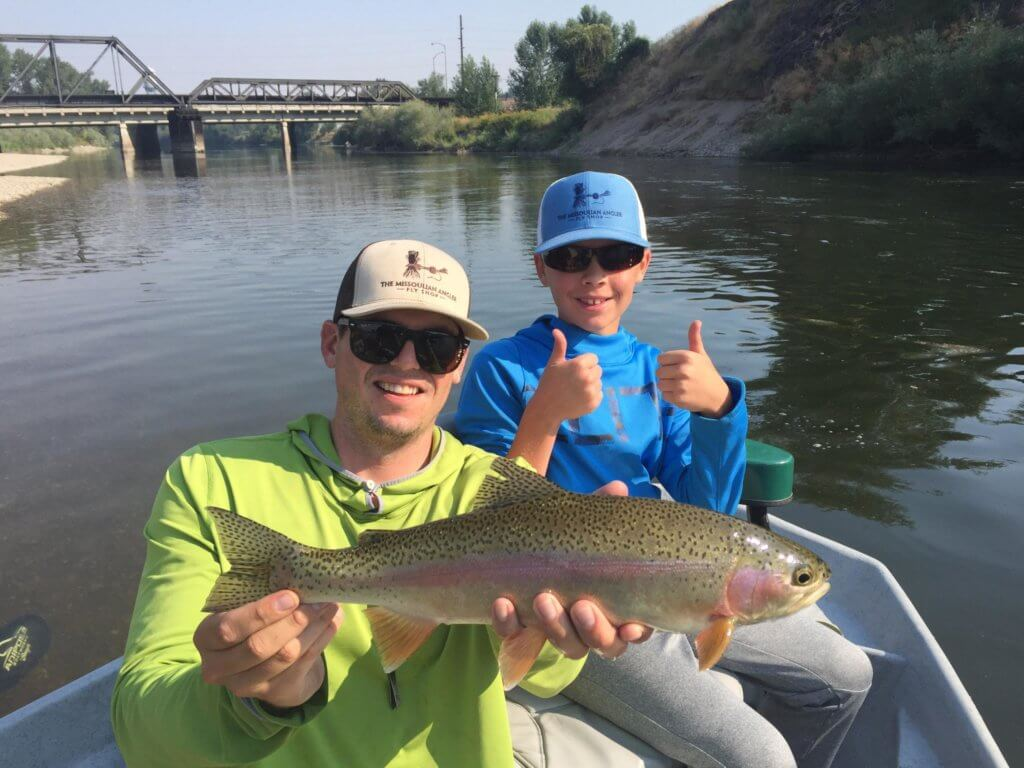 Missoula Kids Fly Fishing