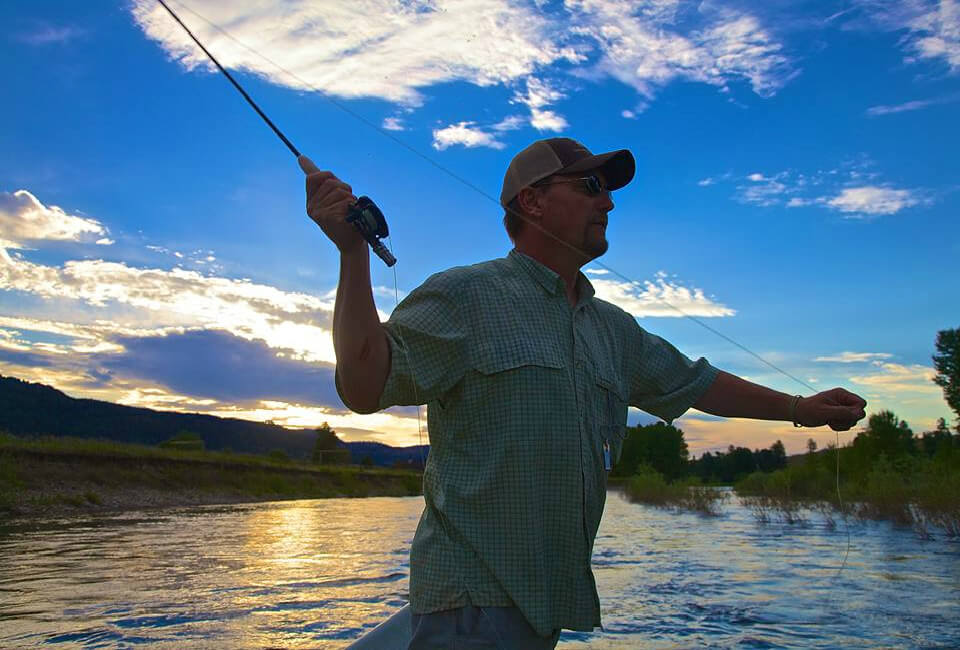 Ron Beck Fly Fishing Clark Fork
